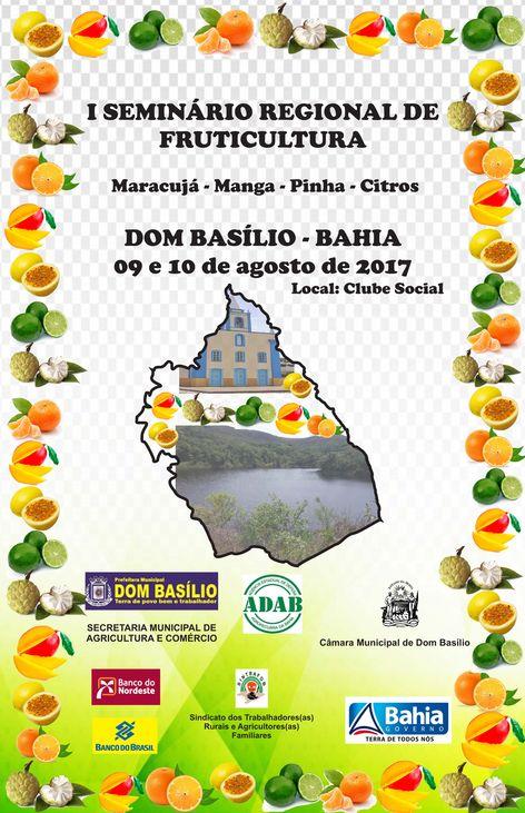 1º Seminário Regional de Fruticultura
