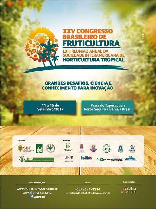 Congresso Brasileiro de Fruticultura