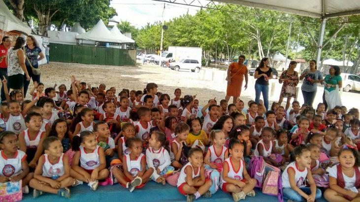ADAB na Escola presente na EXPOITAPETINGA 2017